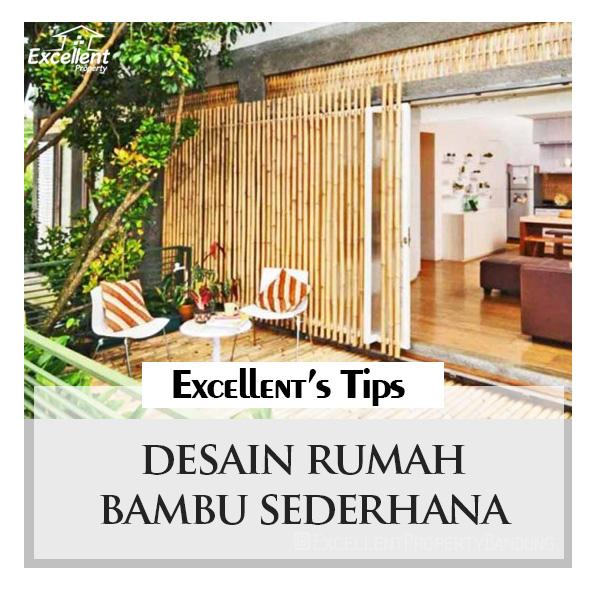 Desain Rumah Bambu Sederhana Excellent Property